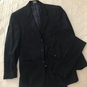 Men's JoS. A. Banks Black Suit